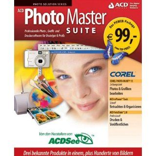Photo Master Suite (inkl. Corel PhotoPaint 11) Software