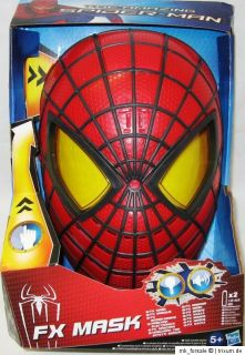 Spiderman The amazing Spider Man FX Maske Licht & Sound