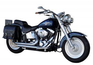 Satteltasche Harley Davidson Softail Slim Custom DeLuxe Packtasche HD