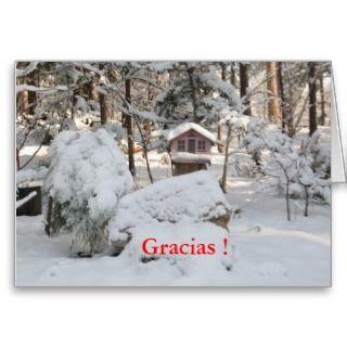 Elegante tarjeta de foto tiene bonita casita de pajaros con nieve en