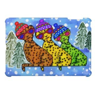 Cheetah Cool Cats iPad Mini Cases, Cheetah Cool Cats iPad Mini Covers