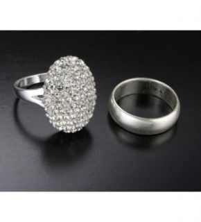 Twilight Breaking Dawn Bellas Engagement Ring & Wedding Band Set *New