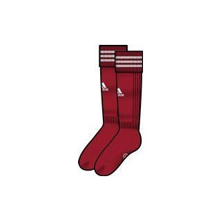 Adidas Socken Stutzen Fußball 3 Stripe New Team sock Farbe Rot