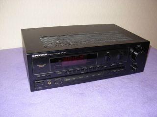 PIONEER SX   102 Stereo Receiver Verstärker 290 Watt !!!