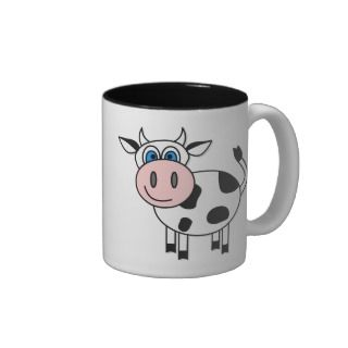 Happy Boy Cow Coffee Mug