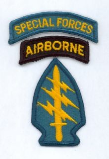 US ARMY Special Forces Airborne SFG Uniform full color patch Aufnäher