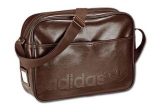 c5651e90d59b ... Adidas Originals Airline Bag Vintage Braun Brown Tasche W62001 Neu UVP  · New ...