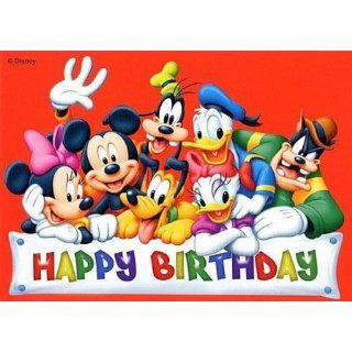 Disney Postkarte Mickey Mouse & Friends Happy Birthday