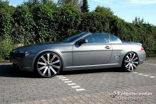 Lombartho LXB Alufelgen 9+10,5x 21 Zoll BMW 6er Coupe Cabrio E63 E64