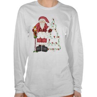 Santa,Elf,Christmas Ladies,Girls Shirt Top