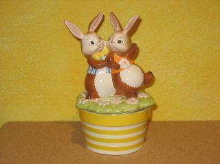 Goebel Hase #298 Spieluhr Komm tanz mit mir Spieldose