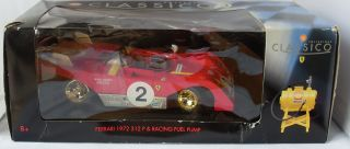 Shell Ferrari 312P 1972 with Race Fuel Pump Scale 118