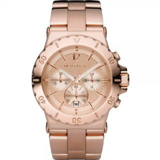 Michael Kors Damen Armbanduhr Fashion Chronograph Quarz Edelstahl