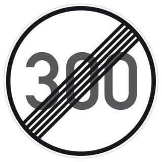 Tempolimit 300 kmh aufgehoben PS Aufkleber Sticker Bombing decal DUB