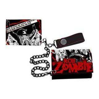 Rob Zombie Geldbeutel Love Slaves Of Satan Geldbörse tri fold wallet