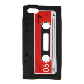HOT Soft Silicone Retro Cassette Tape Skin Case Cover For Apple iPhone