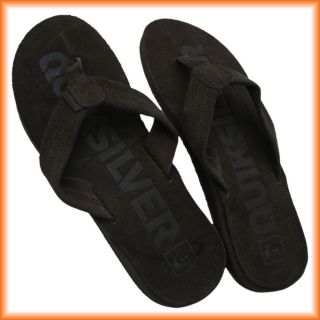 Quiksilver Flip Sandale Flop KIMSL314 brown black Gr.43