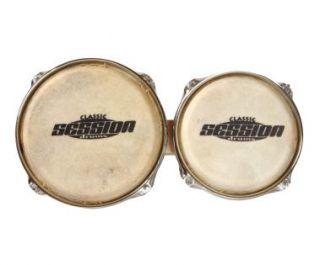 XDrum Retro Bongos + Stimmschlüssel Trommel Percussion 2 Trommeln