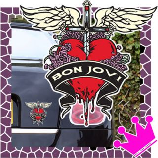 Bon Jovi Rock Music Bumper Car Sticker Auto Aufkleber