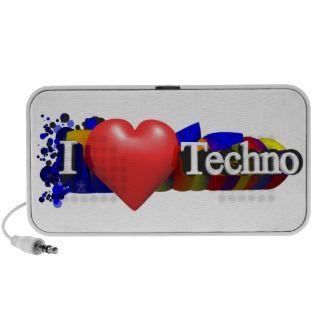 heart Techno speaker