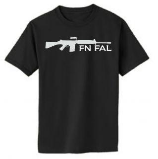FN FAL .308 rifle Tee Shirt XDM pistol gun handgun rifle S XXXL 2nd