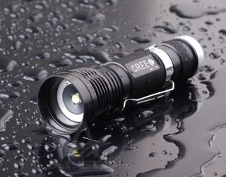 1300 Lumen Zoomable CREE XM L T6 LED 18650 Flashlight Torch Zoom Lamp