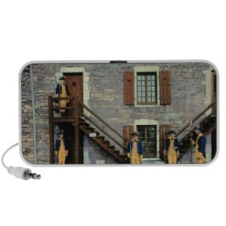 West Barracks, Ethan Allen Stairway Scene Mini Speaker