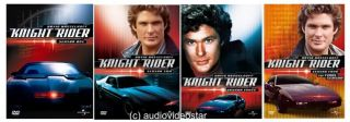 Knight Rider   Season / Staffel 1+2+3+4 NEU DVD Box en