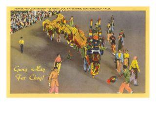 Chinese New Year Parade, San Francisco, California Prints