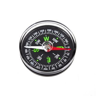 Pocket Portable Compass Navigation Plastic Travel Tool For Outdoor