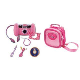 Vtech Kidizoom Pro Set in pink mit Tasche Spielzeug