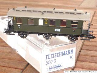 Fleischmann 5875 Personenwagen 4.Kl.DRG Ep.2, Sonderserie , Rarität