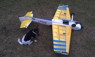 150 cm flugfertig bis auf Empfänger ä. Extra 330 Yak 54 Sbach