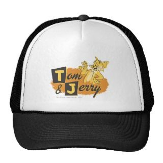Tom and Jerry Mouse In Paw Logo Hat