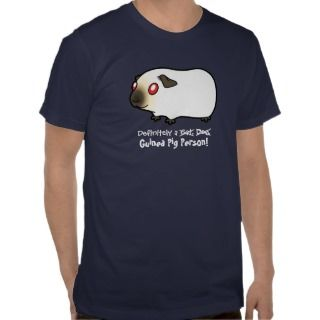 Definitely a Guinea Pig Person (himalayan) T shirts