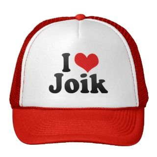 Love Joik Hats
