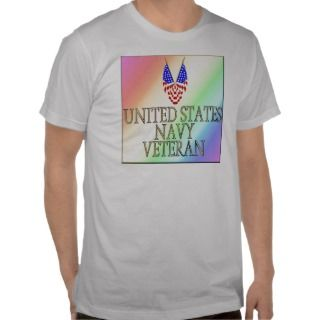United States Navy Veteran (gay/rainbow) Tshirts