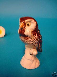 Goebel Tierfigur Vogel Kauz Uhu Eule Nr. 322 TOP