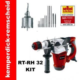 Einhell SDS Bohrhammer RED RT RH 32 Set Kit Bohrmaschine Meisselhammer