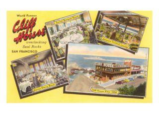 Views of Cliff House, San Francisco, California Prints