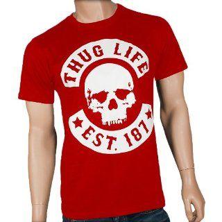 THUG LIFE Skull Tee T Shirt  black Weitere Artikel