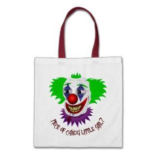 Creepy Clown Bag