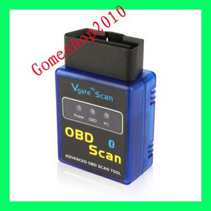 Newest Bluetooth CAR scanner ELM327 OBD2 EOBD Diagnose tool