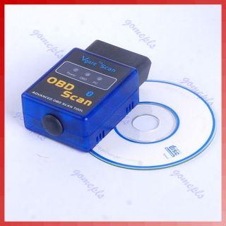 Mini ELM327 OBD II OBD2 Bluetooth Auto Scan Tool V1.5