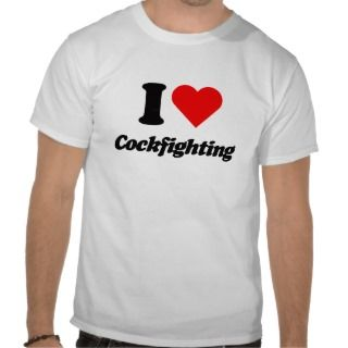 heart cockfighting t shirts