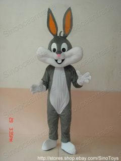 Bugs Bunny RABBIT ADULT CARTOON MASCOT COSTUME SUIT UK