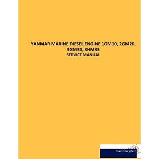 YANMAR MARINE DIESEL ENGINE 1GM10, 2GM20, 3GM30, 3HM35 SERVICE MANUAL