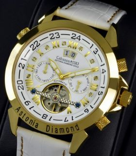 Astonia Diamond Gold WHITE EDITION Feinste Automatik Edition 1 349 EUR