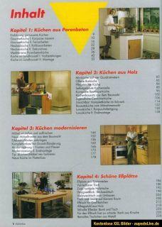 Das grosse Buch vom Küchenbau selber Bauen Küchen Montage Schreiner