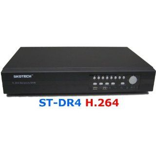 SKOTECH ST DVR4 H.264 4 Kanal DVR VGA Internet 2x SATA